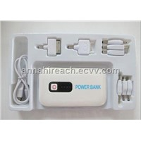 4000mAh Power Bank for iPad, iPhone, Mobiles, PDA, PSP, MP3 Players etc.