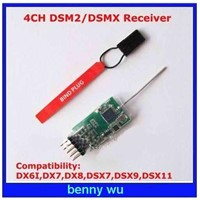 4100E MICROLITE 4-channel DSM2/DSMX Receiver