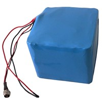 48V10Ah Li-Fe Rechargeable Battery (16S2P Based on 3.2V5Ah