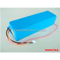 48V12Ah lithium battery pack for electronic bicycle