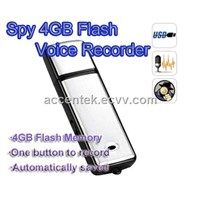 4GB Mini USB Driver Hidden Spy Voice Recorder Digital Audio Recorder USB Flash Drive Memory Storage
