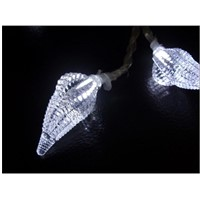 4.5V-20L-LED light garland with sea snail