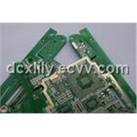 4 Layers Multilayer PCB Board with Non - Halogen Material and Immersion Silver Finishing
