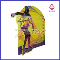 4 color printing corrugated display stand