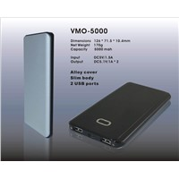 5000mAh power bank for ipad & iphone& smart phone