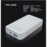 5000mAh power bank for ipad& smart phone