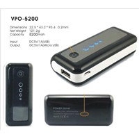 5200mAh power bank for iphone &ipad