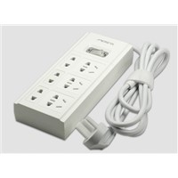 6-Way Socket Outlet