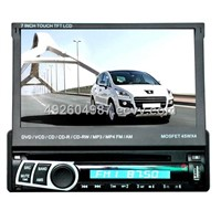 7 inch In-dash Detachable Panel Car GPS Player Support IPOD