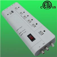 7-outlet US smart surge protector