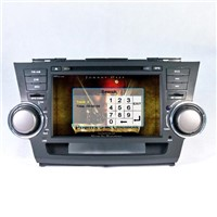 7inch Car GPS with Touch Digital Screen for Toyota Vs7305