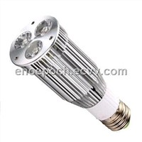 9W E27 LED Spotlight Bulb with Input Voltage Ranging from 85 to 265V