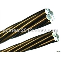 ASTM A416 PC steel strand