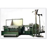 Automatic and semi-automatic chain link fence machines