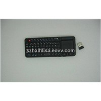 BRAND NEW WIRELESS KEYBOARD WITH MOUSE AND LASER POINTER
