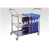 B-45 Stainless Steel Morning Care Trolley
