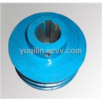Blue Coating V Belt Pulley