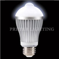 Bright 9W Infrared 5630 SMD LED Motion Sensor Lights bulb B22, E27, E26 for warehouse
