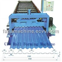 C10 Roofing Sheet Color Steel Forming Machine
