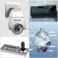 CCTV Mini Hidden PTZ IR Speed Dome Camera