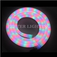 CE / RoHS Approved Low Heat 50000hours Lifespan RGB Led Neon Rope Light For Casino