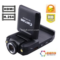 Car Camera Vehicle DVR with H.264 Video Code and 5M COMS