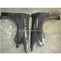 Carbon fiber fenders for 2002-2003 Mitsubishi Lancer