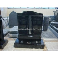 China Black Granite Tombstone