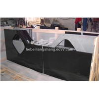 China Black Granite worktop