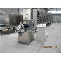 China floating fish food processing machine