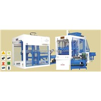 Concrete block molding machine