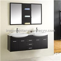 Contemporary Double Bathroom Furniture (IS-2120)