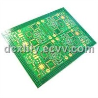 Custom Green 8 Layers 0.7mm HAL Printed Multilayer Pcb Board