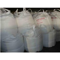 Detergent powder in bulk package