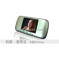Digital Peephole Viewer with Auto-detection Infrared Night Vision and Quick View(OM12-P)