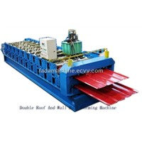 Double Roof And Wall Panel Production Line