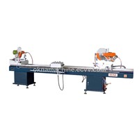 Double mitre saw for aluminium and Pvc win-door
