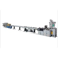 Drip irrigation pipe extrusion machine
