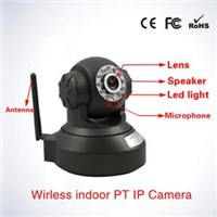 Economical P2p H. 264 Indoor Pan/Tilt Dome Ip Camera