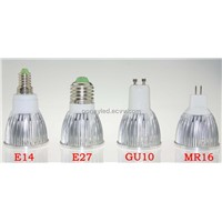 Energy Saving GU10 MR16 E27 5X1W High Power LED SPOT Lamp Lights 5W 12V 85V-265V