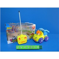 FOUR CHANNEL R/C  CARTOON TRUCK WITH LIGHT