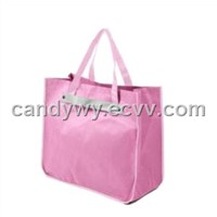Fashion Nonwoven Bag with Decorative Belt