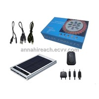 Fashionable Solar Charger with 2600mAh Battery (HR-SC003)
