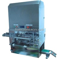 Flexible film soap wrapping machine