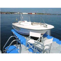 Floating dock , float yacht dock, plastic yacht dock, boat dock, motor dock,floating pontoon,