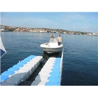 Floating dock , float yacht dock, plastic yacht dock, boat dock, motor dock,floating pontoon