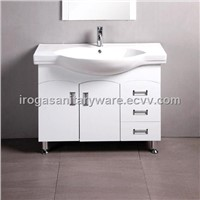 Free Standing PVC Bath Furniture (IS-3017)