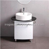 Free Standing PVC Bathroom Cabinet (IS-3014)