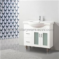 Free Standing White Vanities (IS-2017)