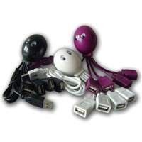 Funny Octopus Shape USB Hub 2.0